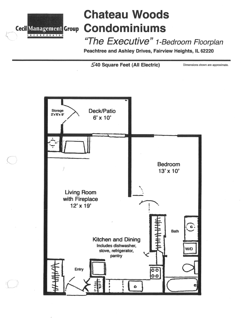 Chateau Woods - Executive Floor Plan