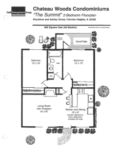 Chateau Woods - Summit Floor plan