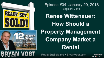 Renee Wittenauer: How should a property management company market a rental