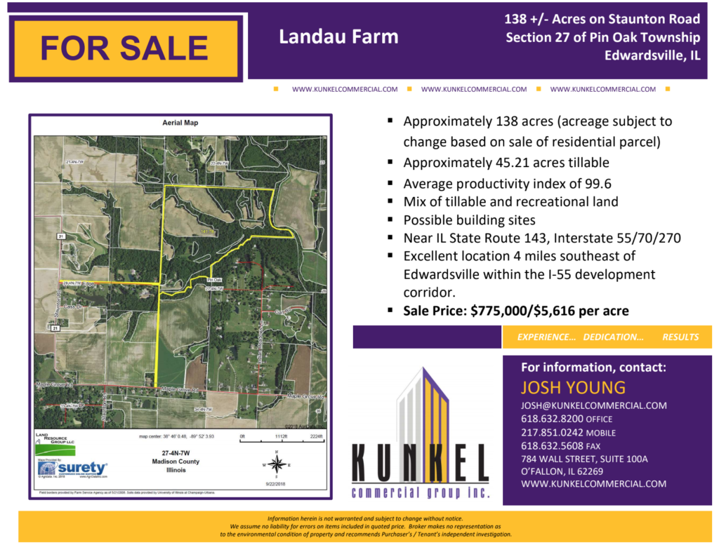 Landau Farm Land For Sale
