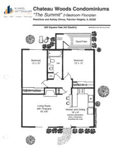 Chateau Woods - Summit Floor plan